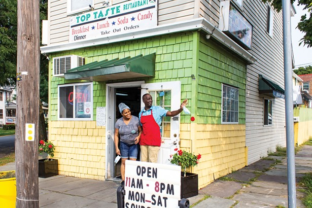 """Malenda and Albert """"Sammy"""" Bartley, owners of Jamaican restaurant Top Taste, which has been featured in Bon Appeitit."""