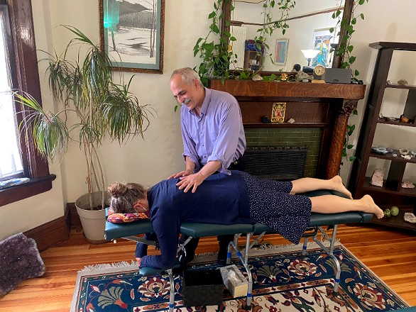 Dr. Marc Rabinowitz practices a variety of chiropractic techniques, including Network Spinal Analysis - ALL IMAGES COURTESY FAMILY NETWORK CHIROPRACTIC