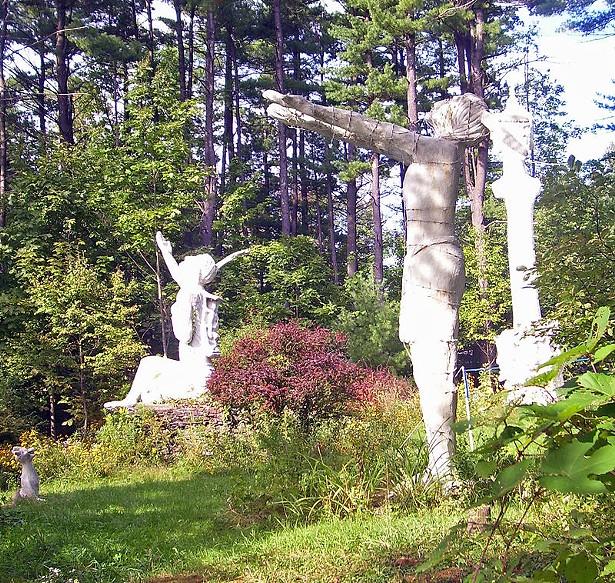 Emile Brunel sculptures at Brunel Sculpture Garden - DANIEL CASE