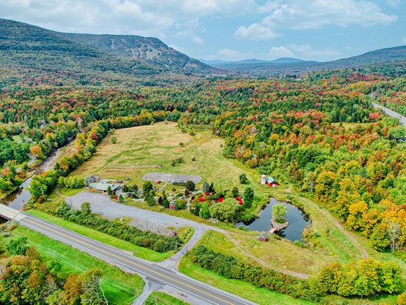 On the market from Philippe Uhrik of Win Morrison Realty is this 253-acre property in Hunter to enjoy as a family estate or with the potential to develop commercially with zoning that allows for just about any endeavor—from a glorious resort to multiple homesites with ski-country views.
