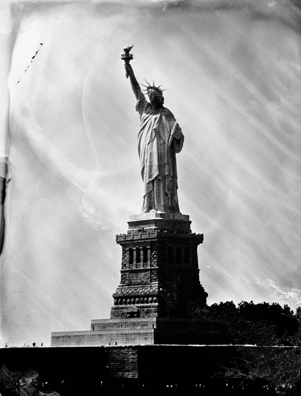 Statue of Liberty (2015); - PHOTO BY JILL ENFIELD