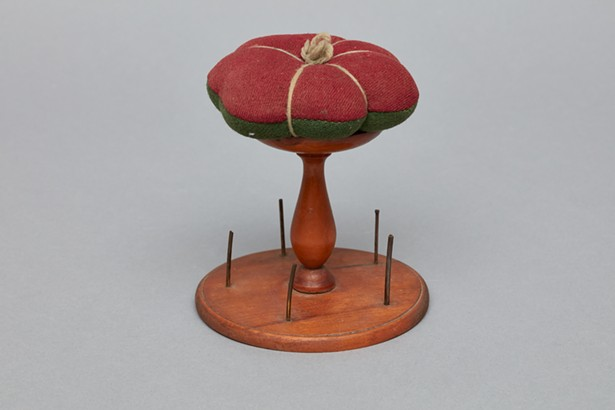 spool holder stand from the Shaker Museum collection
