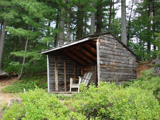 A LEAN-TO IN THE ADIRONDACKS. CC 2.0