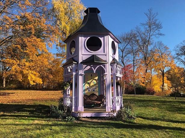 The Pollinator Pavilion at the Thomas Cole Historic Site