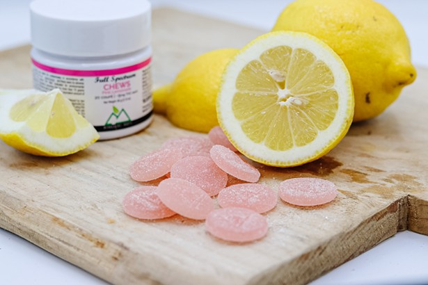 Pink lemonade chews - IMAGES COURTESY OF BERKSHIRE ROOTS