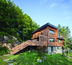 North Street House, a Passive House retrofit in Cold Spring completed by River Architects. - BRAD DIXON