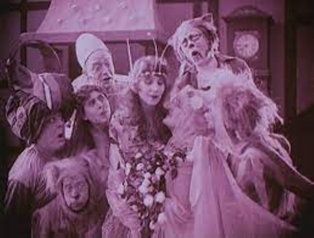 A scene from The Blue Bird (1918)