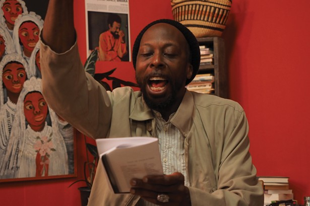 A still from Ephraim Asili's film The Inheritance