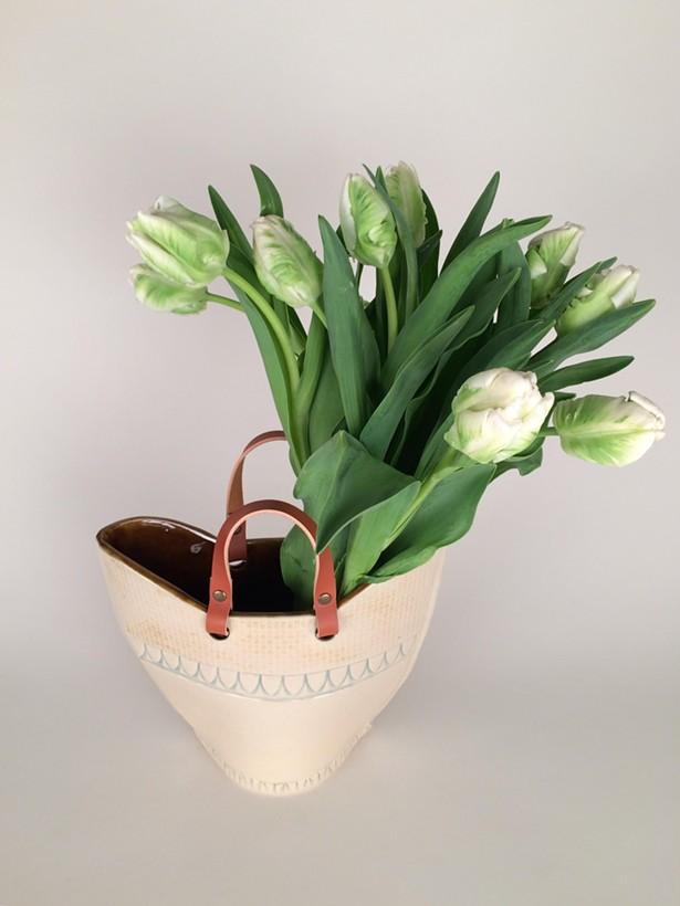 Ceramic vase by Hester's Studio
