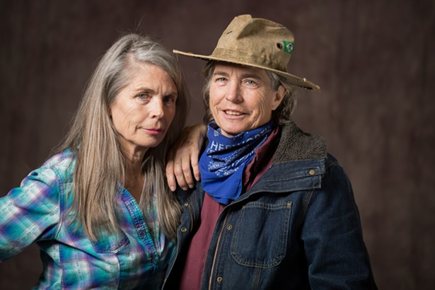 Gail Hepworth, left, and her sister Amy Hepworth, right. - IMAGES COURTESY OF HEMPIRE STATE GROWERS