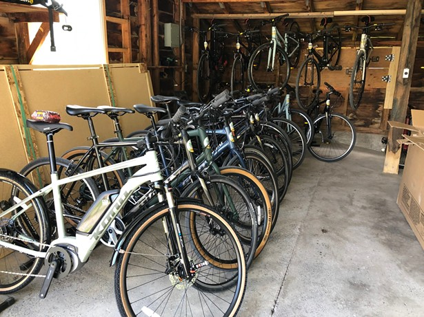 Overlook's Shokan rental inventory includes 40 brand new bikes. - IMAGES COURTESY OF OVERLOOK BICYCLES