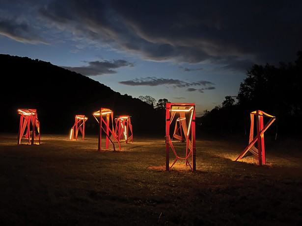 Nina Cooke John's Point of Action at Wassaic Project