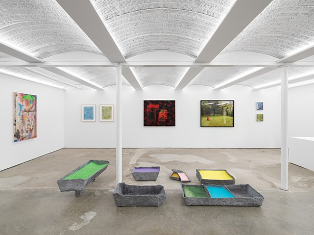 """""""Subliminal Horizons,"""" curated by Alvin Hall. Installation - view of Alexander Gray Associates Germantown gallery. - Courtesy Alexander Gray Associates, New York."""