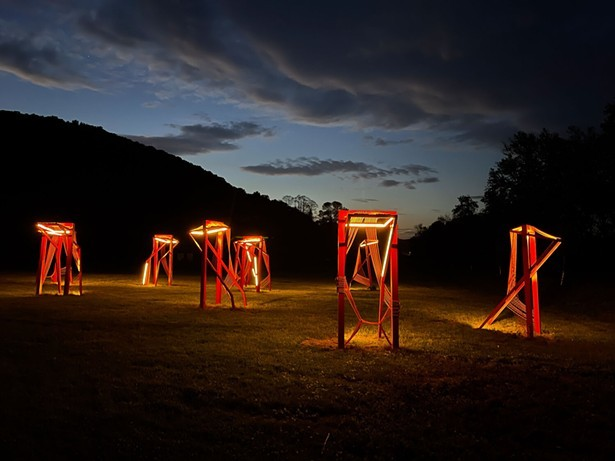 Point of Action by Nina Cooke John at Wassaic Project