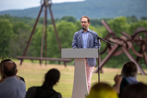 Anthony Davidowitz, Deputy Director Operations, Administration, and Legal Affairs at Storm King Art Center will speak at next month's Hudson Valley Creative Impact - IMAGES COURTESY OF ORANGE COUNTY ARTS COUNCIL
