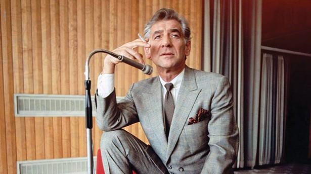 A still from Bernstein's Wall, a doucumentary about Leonard Bernstein, at the Berkshire International Film Festival;