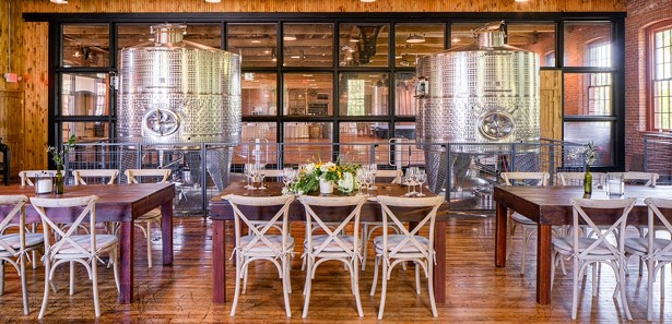 IMAGES COURTESY OF CITY WINERY HUDSON VALLEY
