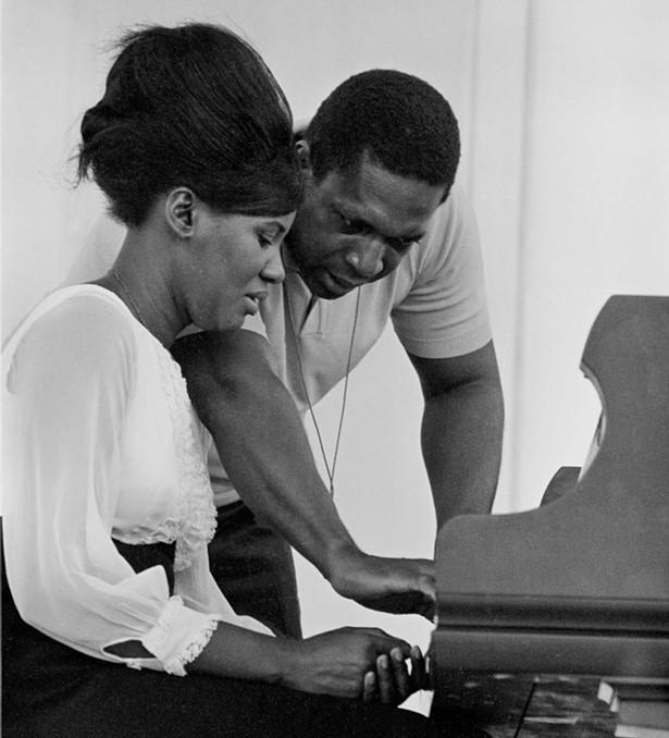 Alice and John Coltrane