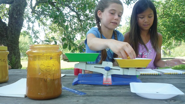 Sculpting puppets at Flying Cloud Institute's SMArt summer camp.