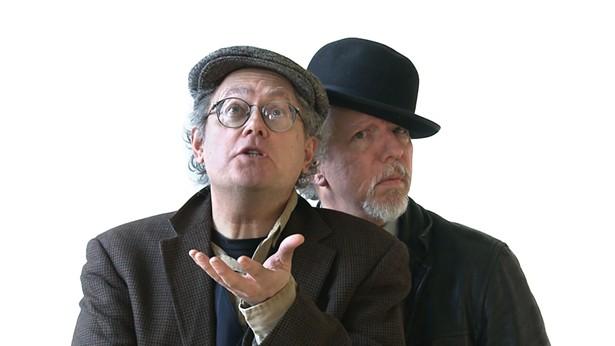 Mikhail Horowitz & Gilles Malkine at Unison Arts