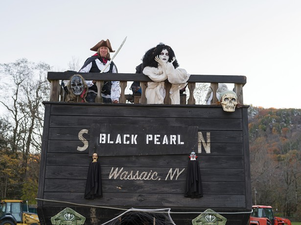 Wassaic Project Haunted Hamlet and Monster's Ball