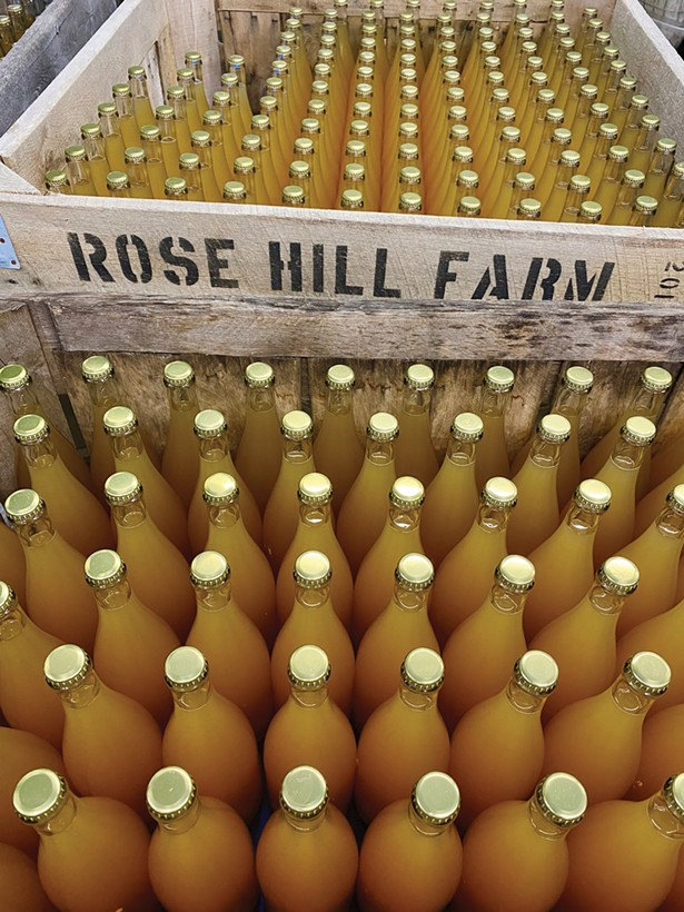 Rose Hill Orchard in Red Hook debuted their line of raw, unrefined, unfiltered natural wines and ciders in 2019.