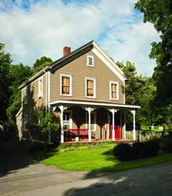 The exterior of their 1903 farmhouse. - DEBORAH DEGRAFFENREID