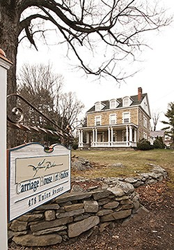 A view of the 1790 house from the road - DEBORAH DEGRAFFENREID