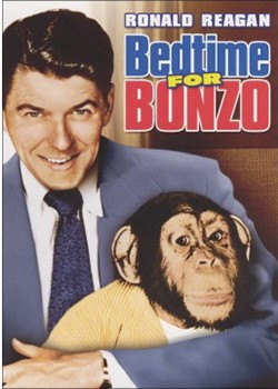 RONALD REAGAN AND BONZO