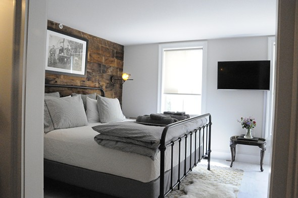 Suites in the Boarding House are tastefully appointed and a great value.