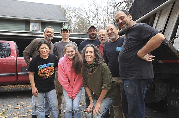 A group of volunteers donated their talents to make the house seem like a home. - WILL WEBER