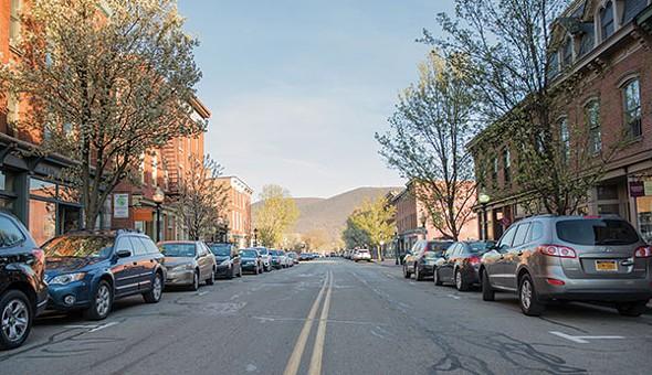 Looking southeast down Main Street in Beacon - CHRISTINE ASHBURN