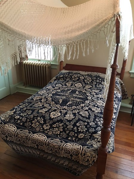 New bed frame taken out of storage - DIANA WALDRON