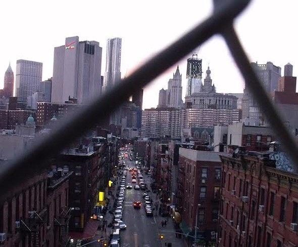 View from the Manhattan Bridge - AMANDA PAINTER