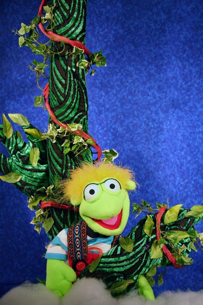 """The Puppet People's new show, """"Jack and the Beanstalk"""" - COURTESY OF THE CENTER FOR PERFORMING ARTS IN RHINEBECK"""