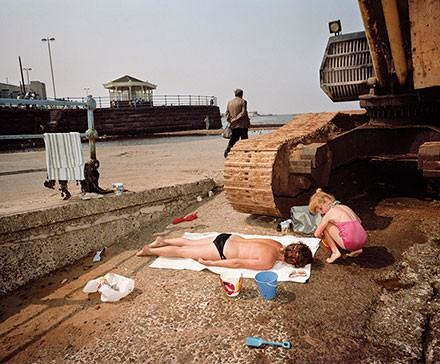 """From the """"The Last Resort: Photographs of New Brighton"""" which will be exhibited at the harts gallery. - MARTIN PARR"""