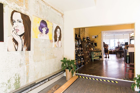 Partition Street Wine Shop in Saugerties - EVA DEITCH
