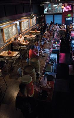 Buns-n-Bourbon in Peekskill. - CHRISTINE ASHBURN