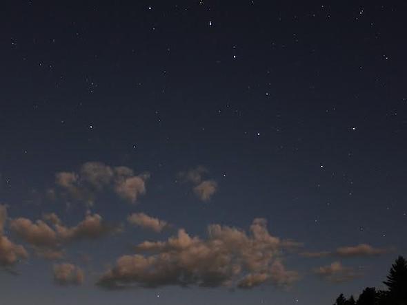 The Big Dipper in the night sky - AMANDA PAINTER