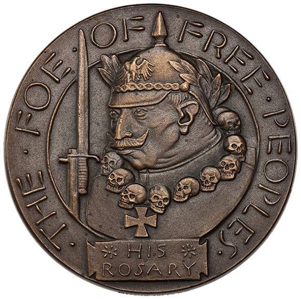 The Foe of Free Peoples, Paul Manship (1918)