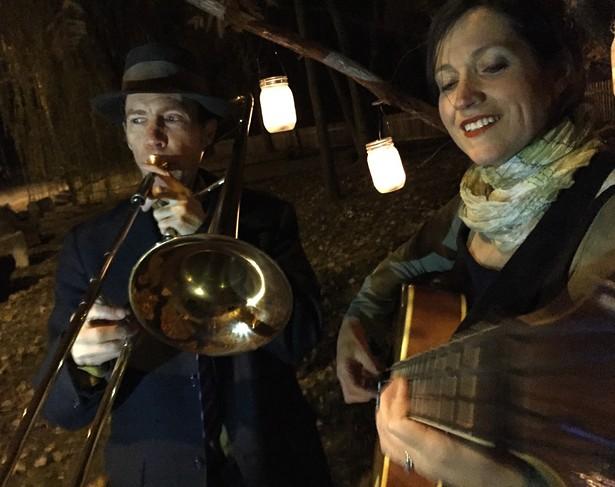 Dean Jones and Rachel Loshak of The Moonlights