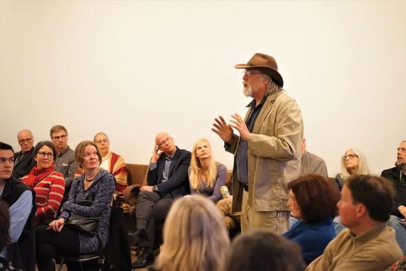 Dan Brown, owner of The Wherehouse. - JOHN GARAY
