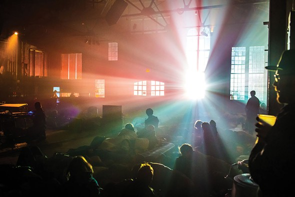 The 24-Hour Drone festival takes place April 28-29 at Basilica Hudson. - ERIC HARVEY BROWN