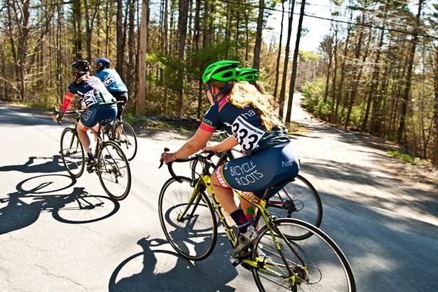 courtesy of the Women's Woodstock Cycling Grand Prix - JORDAN APGAR