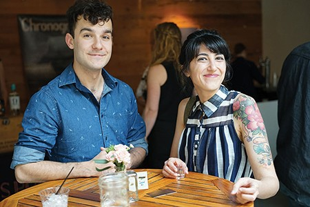 Jake Vosper and Alana Sawchuck - JOHN GARAY
