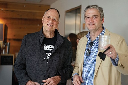 Daniel Aubry and Bob Hussing - JOHN GARAY