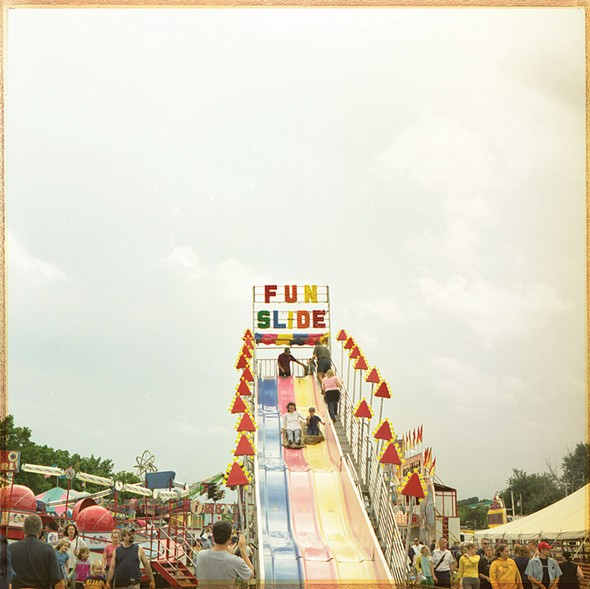Fun Slide, cross-process photograph, 2013 - LONNY KALFUS