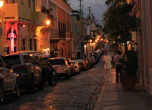Street in Old San Juan, Puerto Rico. - AMANDA PAINTER