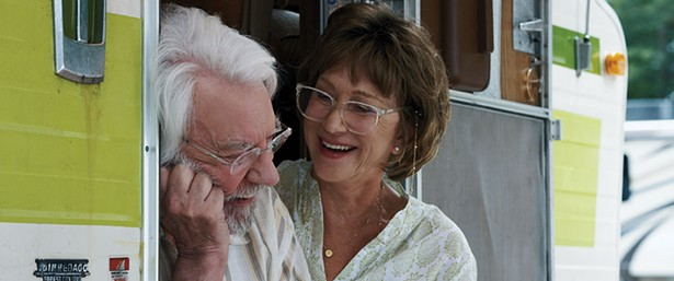 Donald Sutherland and Helen Mirren in The Leisure Seeker.