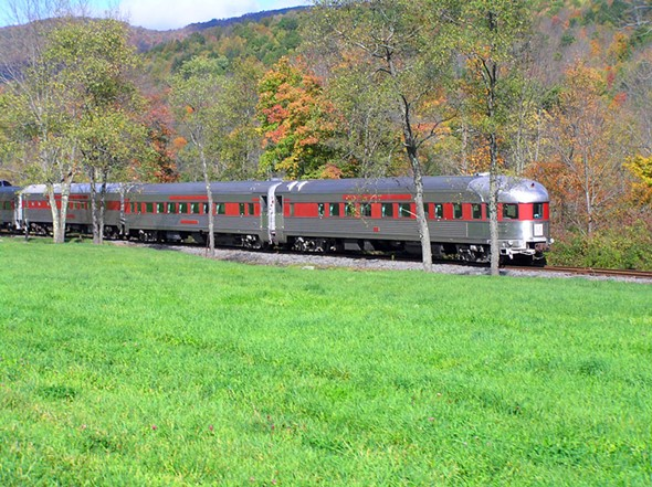 The Rip Van Winkle Flyer. - PHOTO COURTESY OF THE DELAWARE & ULSTER RAILROAD.